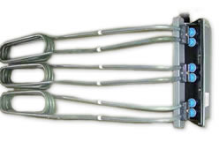 PTFE vat heater for hydrochloric acid