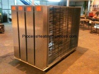 LARGE AIR HEATER BATTERY