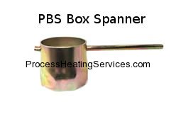 IMMERSION HEATER BACK NUT BOX SPANNER 2.25""