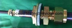 HEATING ELEMENT COMPRESSION GLAND FITTING