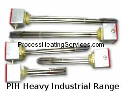 PIH Range – Heavy Duty Industrial Immersion Heater (4.5kW–24kW)