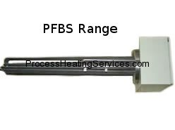 PFBS Range – Brass or Stainless Steel Immersion Heaters (12kW-54kW)