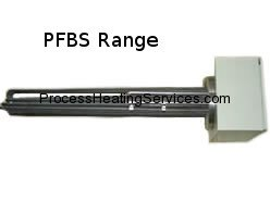 PFBS Range – Brass or Stainless Steel Flanged Immersion Heaters (12kW-54kW)