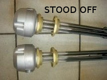 stood-off INDUSTRIAL IMMERSION HEATER