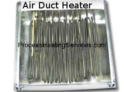 Process Heating Services - AIR DUCT HEATER