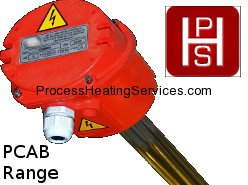 Process Heating Services - PCAB RANGE – Calorifier and Brewery Immersion Heater (3–24kW)