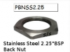 IMMERSION HEATER STAINLESS STEEL BACK NUT