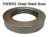 IMMERSION HEATER WELD BOSS - MILD STEEL
